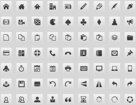 Free icon packs for developers | Dean Hume
